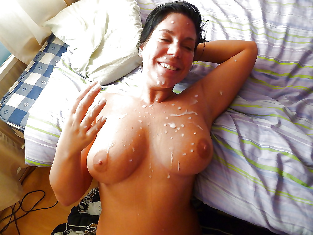 These girls love a warm load of cum on their face