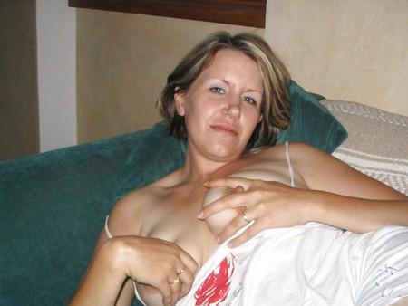 sexy blonde wife Milf exposing