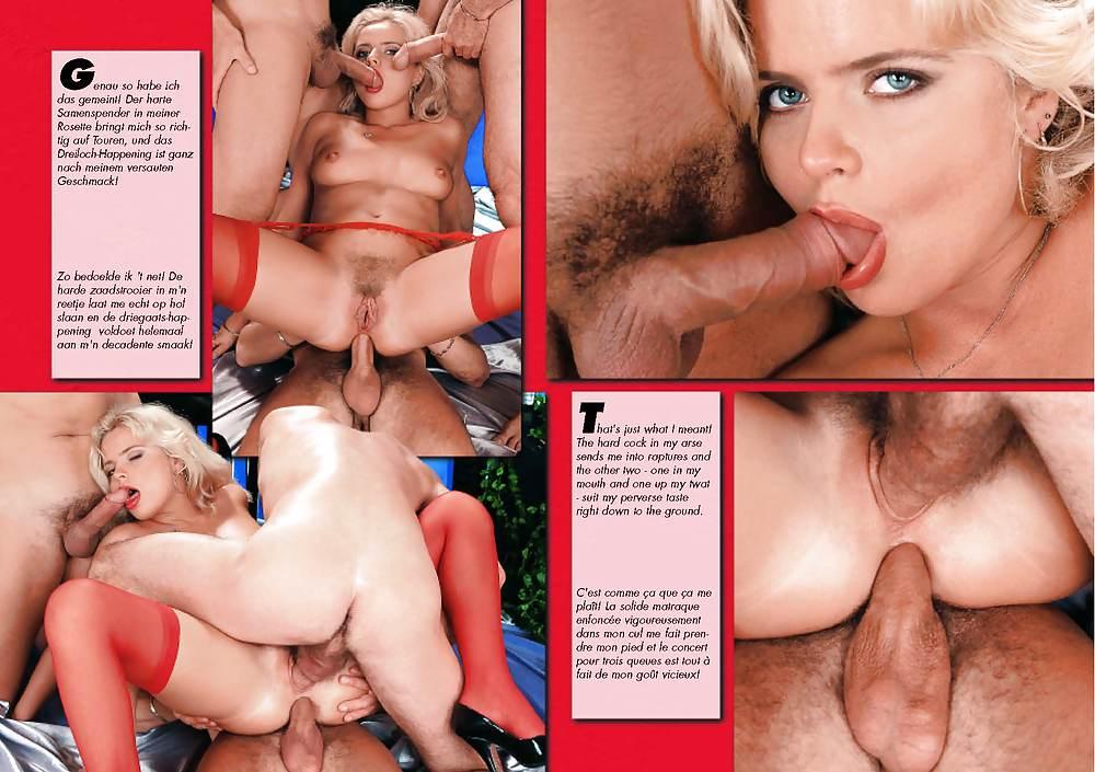 Hot anal threesome
