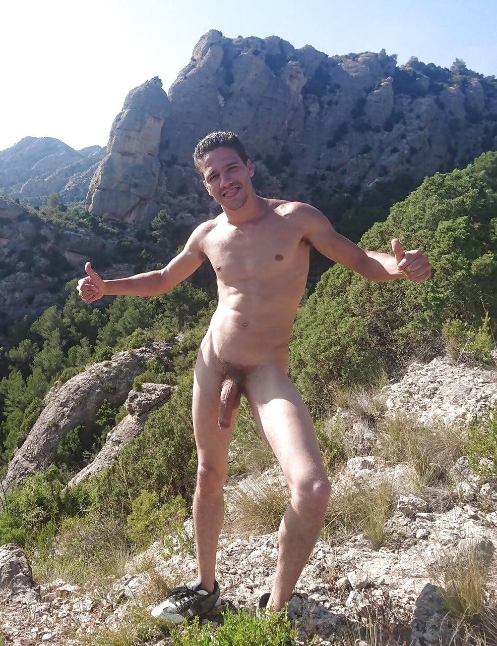 Guys hiking naked — 4