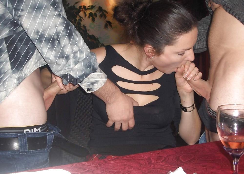 частное жену лапают что