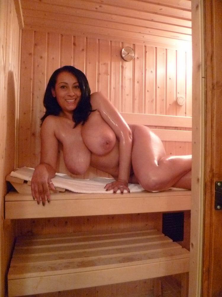 Mature naked sauna, hot mom pussy