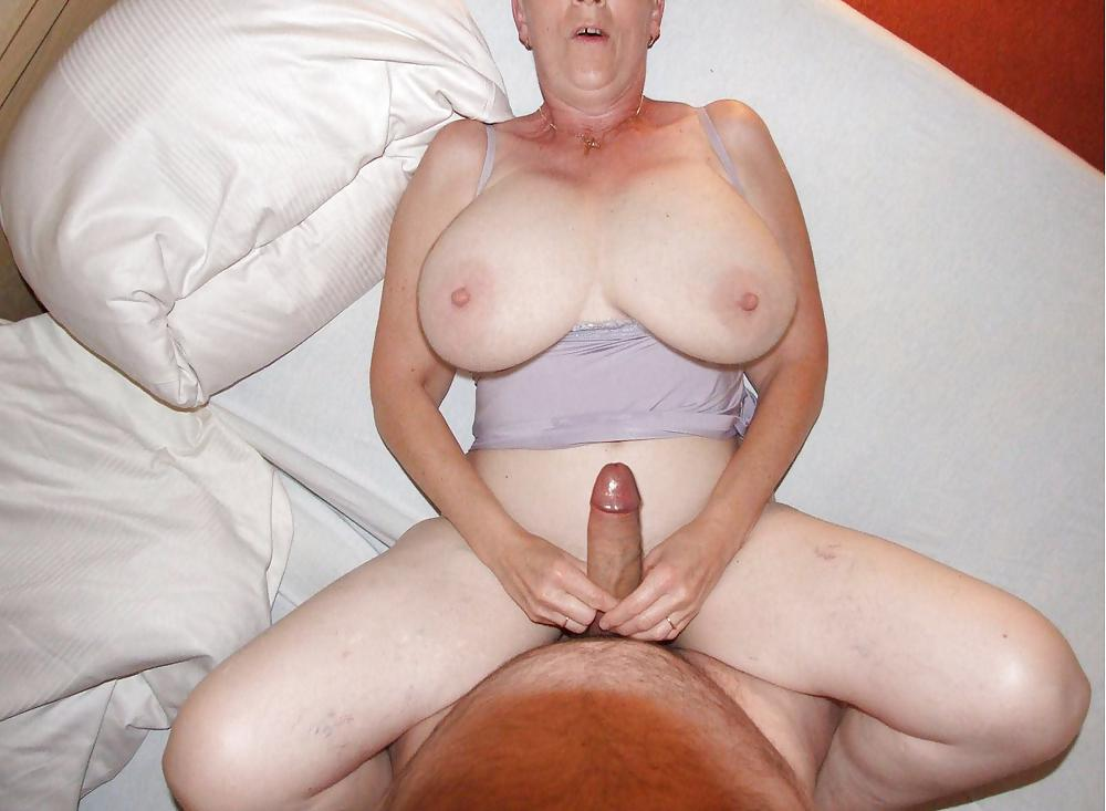 Granny naked boobs