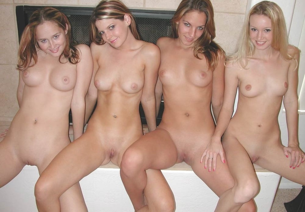 Young naked college girls pubes