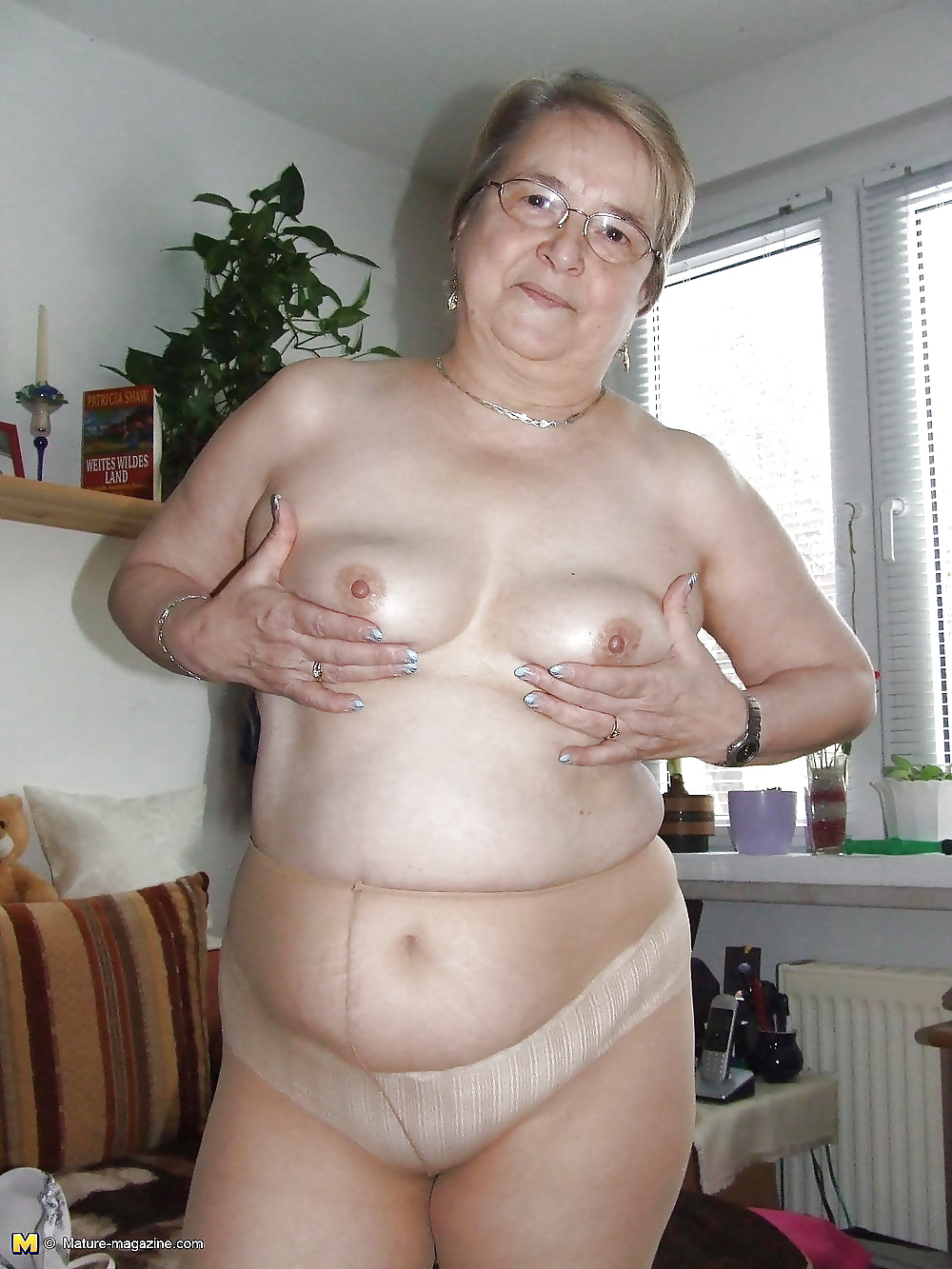 Pantyhose Mature Fat Bbw Amateur Granny Stocking Panties -7972