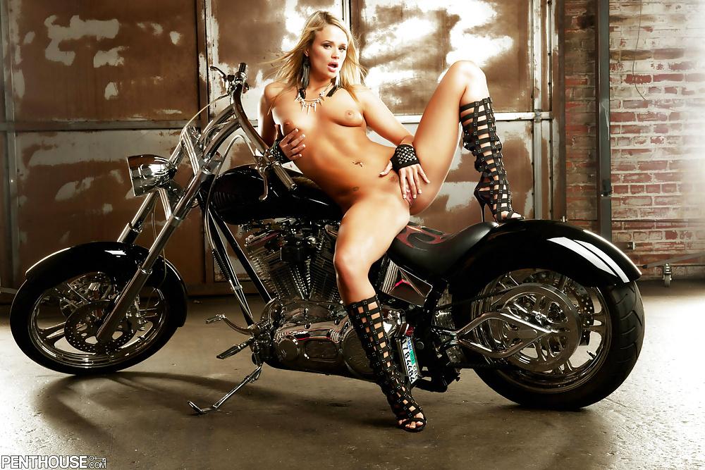Bike with girl-4121