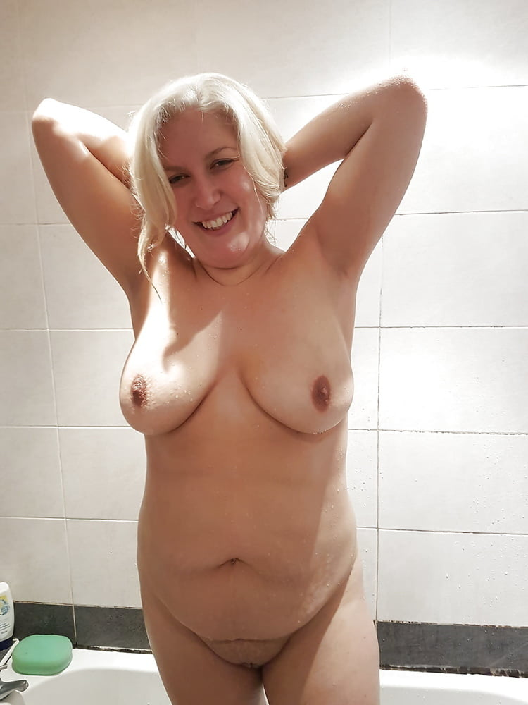 Chubby in shower
