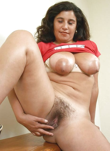 Hairy Solo Latina Mature