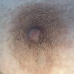 Anatomy Of A Big Brown Bbw Nipple Close Up And Natural