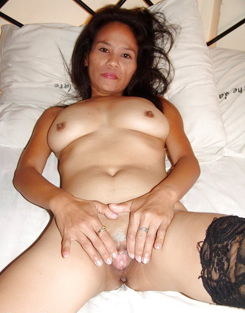 Granny asian creampie