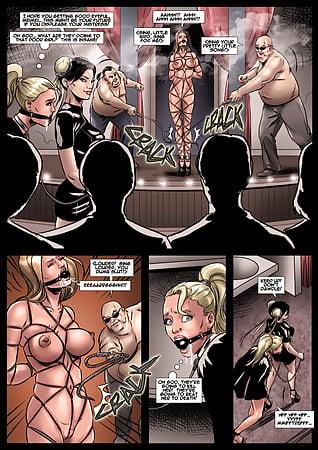 Bondage comic