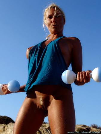 Berger nackt Michelle  Senta Berger