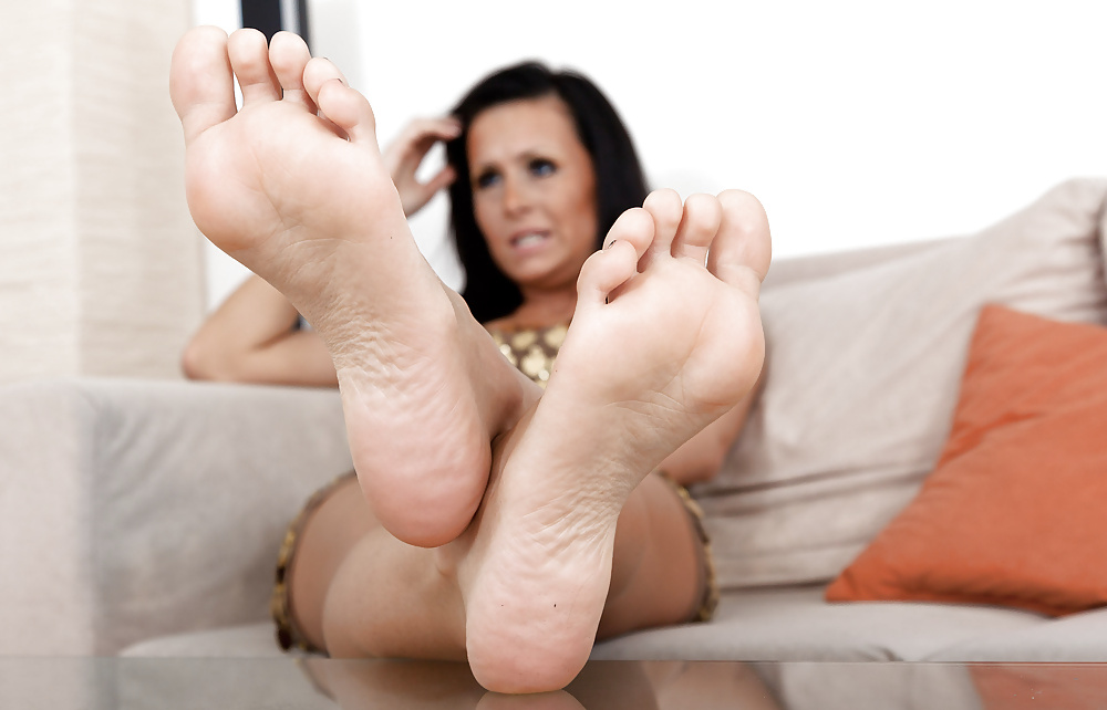 Foot fetishes foot toy
