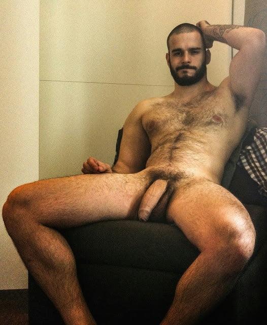 Nude men black
