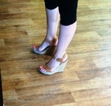 Candid feet and heels at work #2