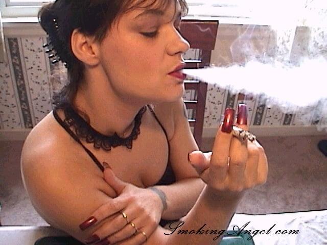 Multiple smoking fetish clips — photo 13
