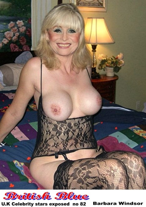 Big Tits Barbara Windsor