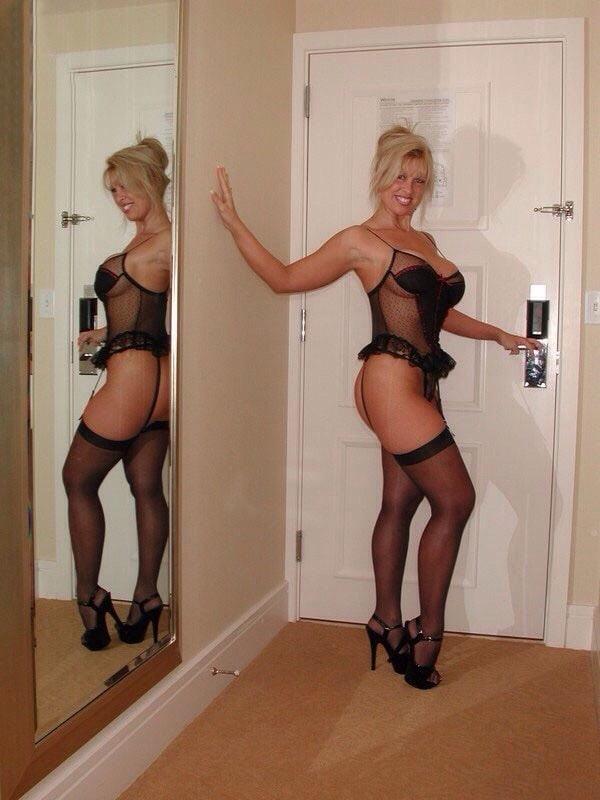 Fat blond porn #1
