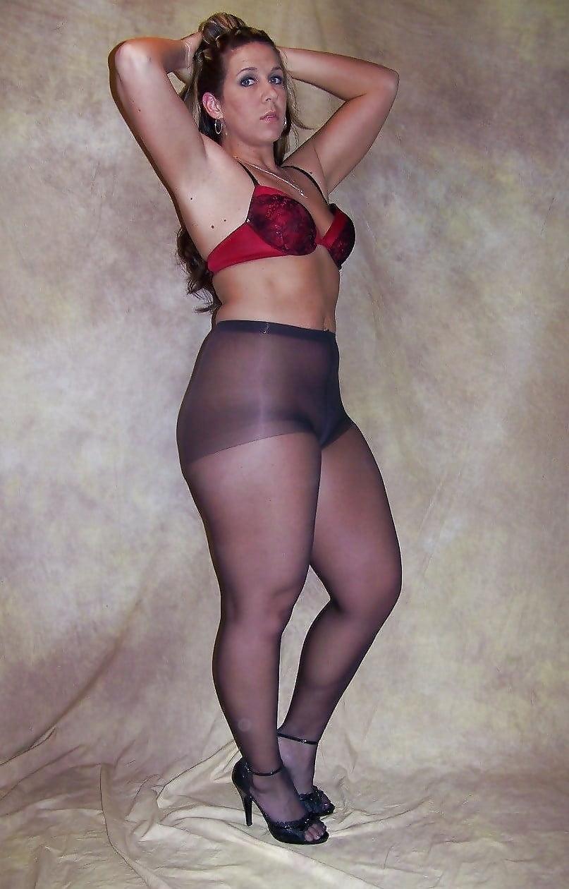 Толстая жена в колготках фото #5