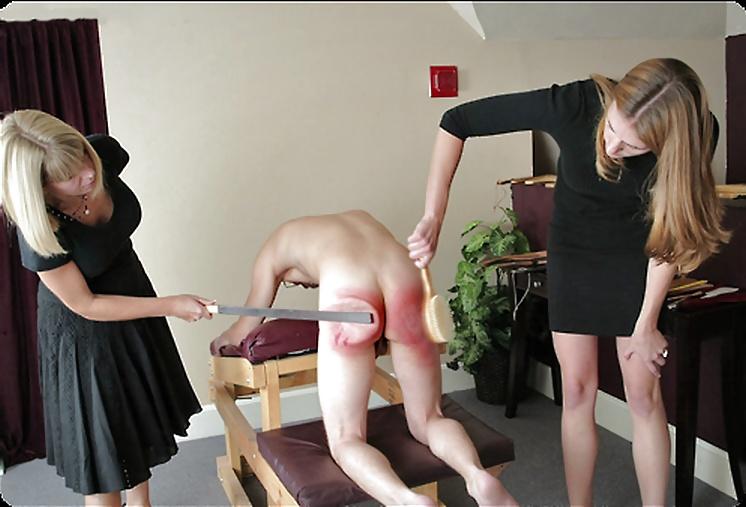Black spanking white slave