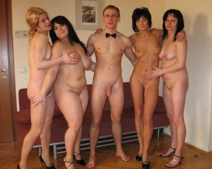 Naked group party milfs