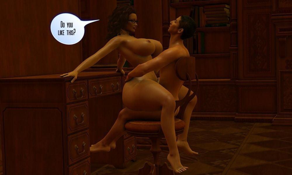 Naked Cartoon