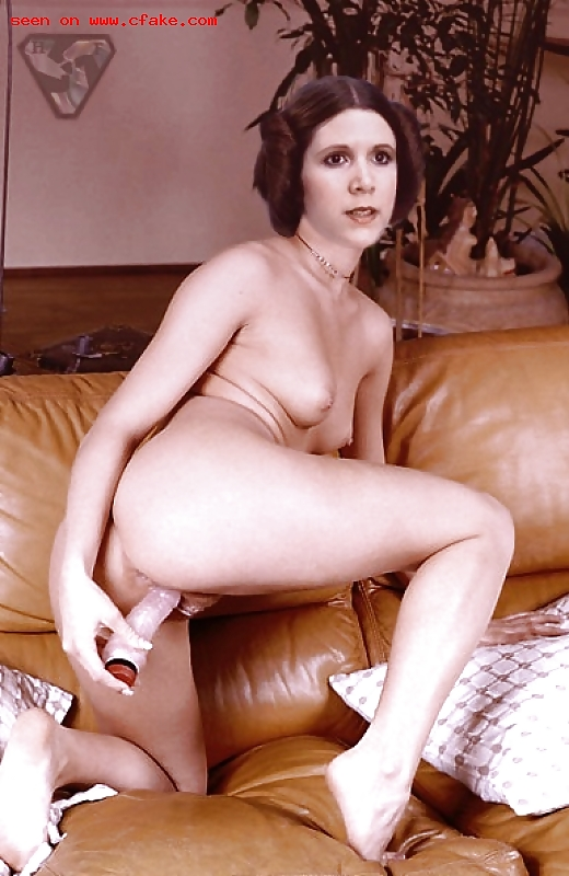 Carrie fisher nude images