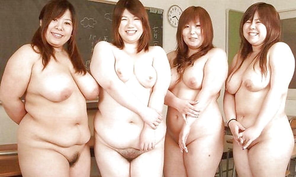 Фото толстых японок порно — 15