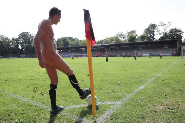 Naked football