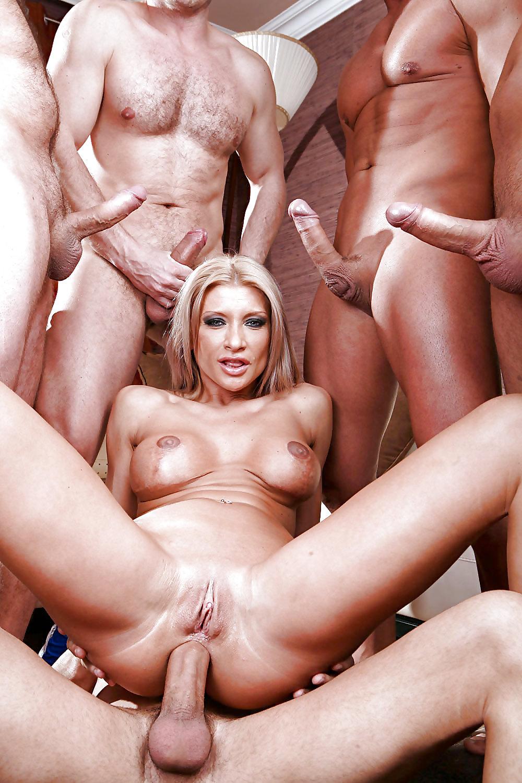 фото ганг банг с блондинкой очаровательные