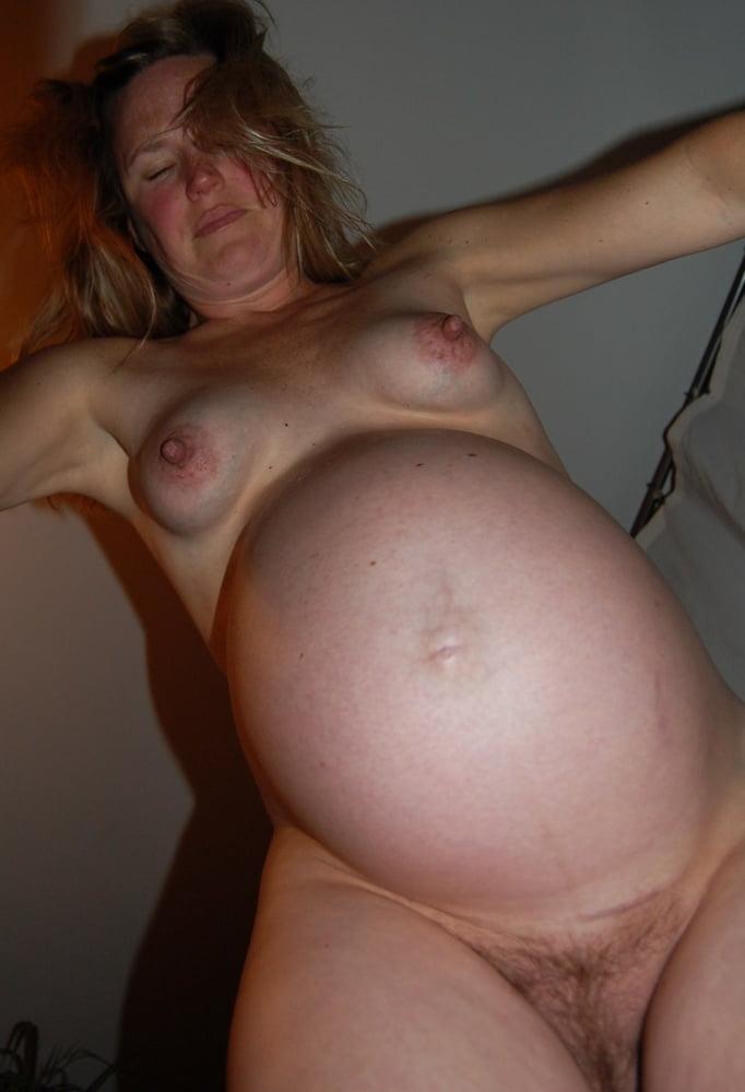 Pregnant Girl Naked On Beach