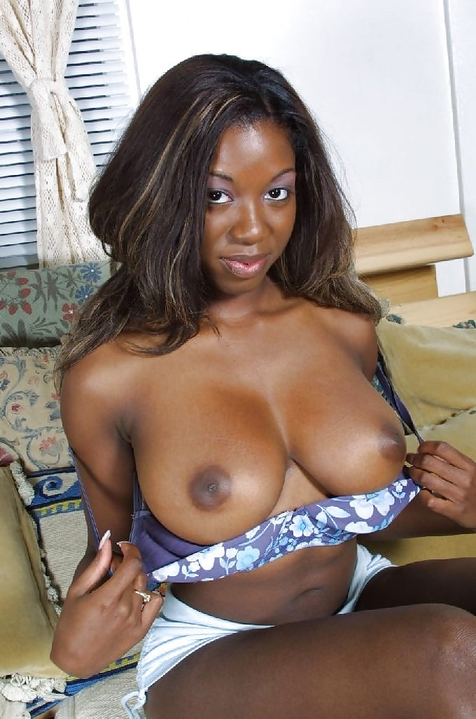 Ebony perfect tits porn