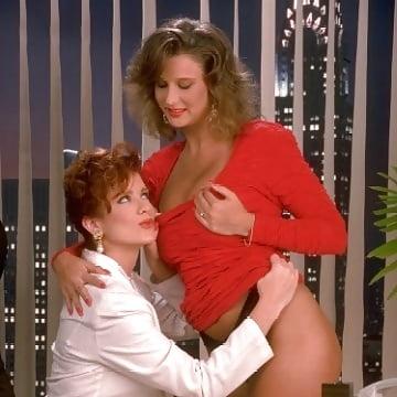 Office lesbian milf