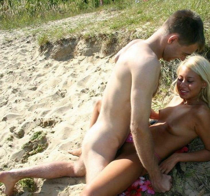 секс за деньги на диком пляже заводит руки