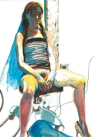 kaleidoscope of drawn ero and porn art    various artists