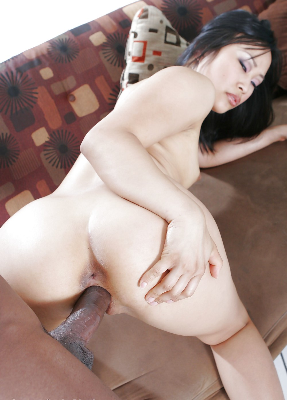 Asian Girl Fucked White Guy
