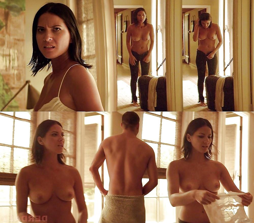 Olivia munn totally nude, bridget sampras naked pics