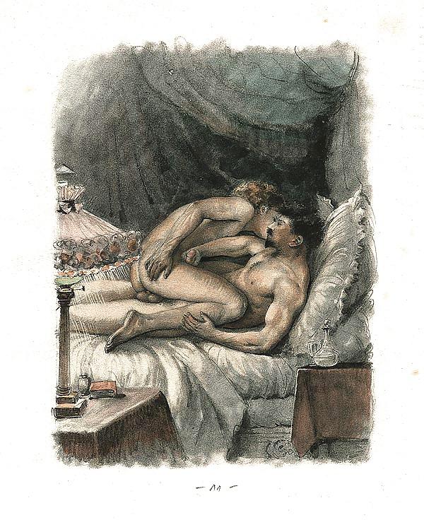 Эротические рисунки прошлого века