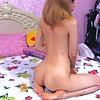 girl redhead slim young sexy hot pretty slut
