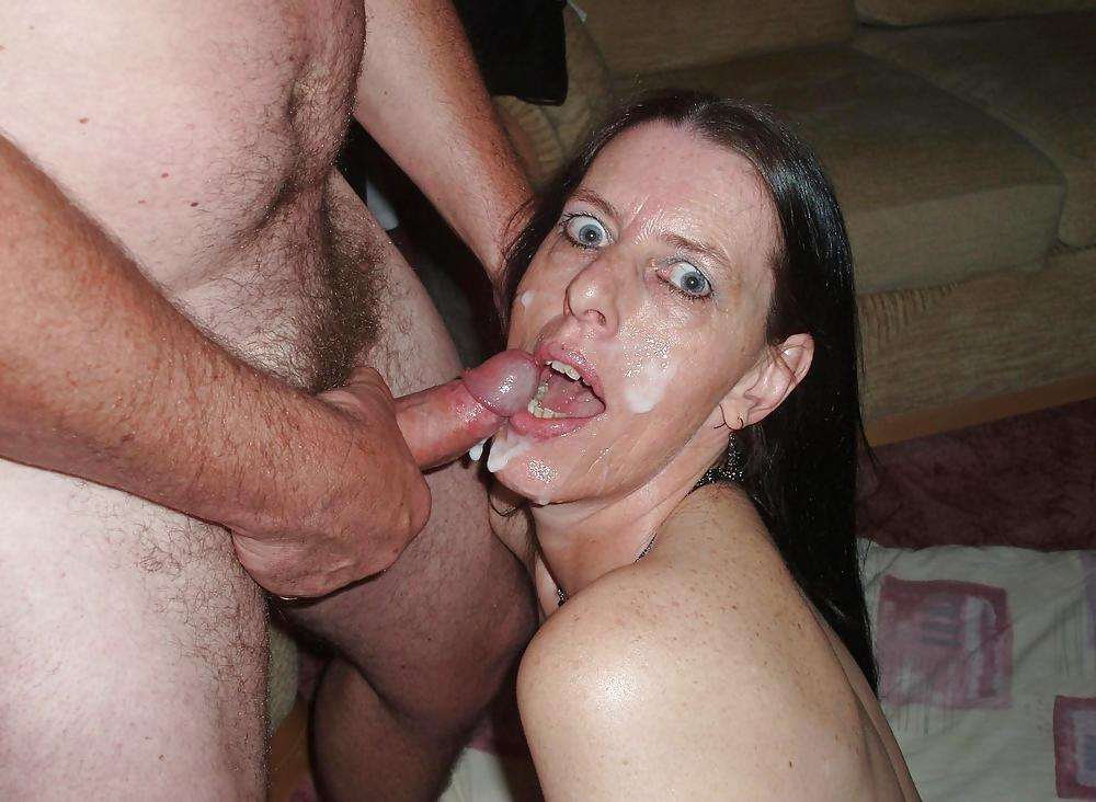 Mature amateur blasted with loads of cum pov