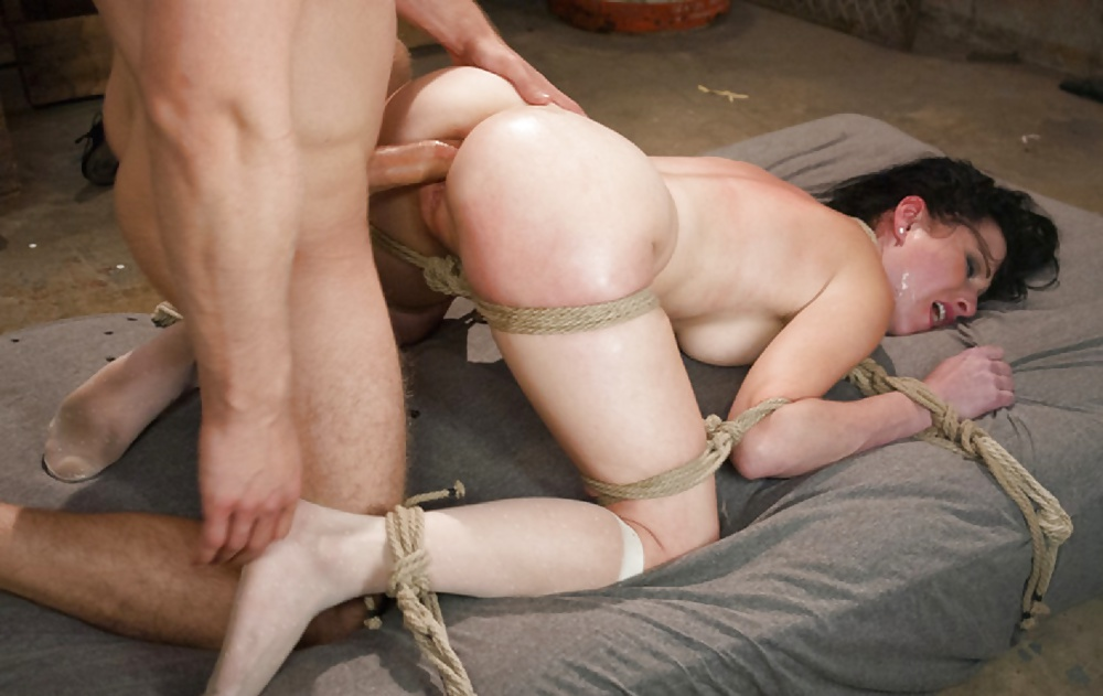 Tattoo squirt dynamo lily lane bound in rope bondage and fuc - 2 part 6