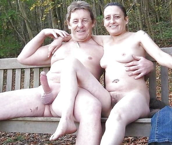 couples erections Nudist with