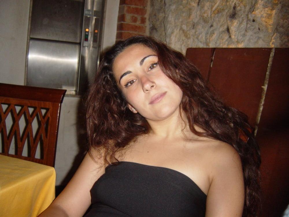 Curly brunette - 42 Pics