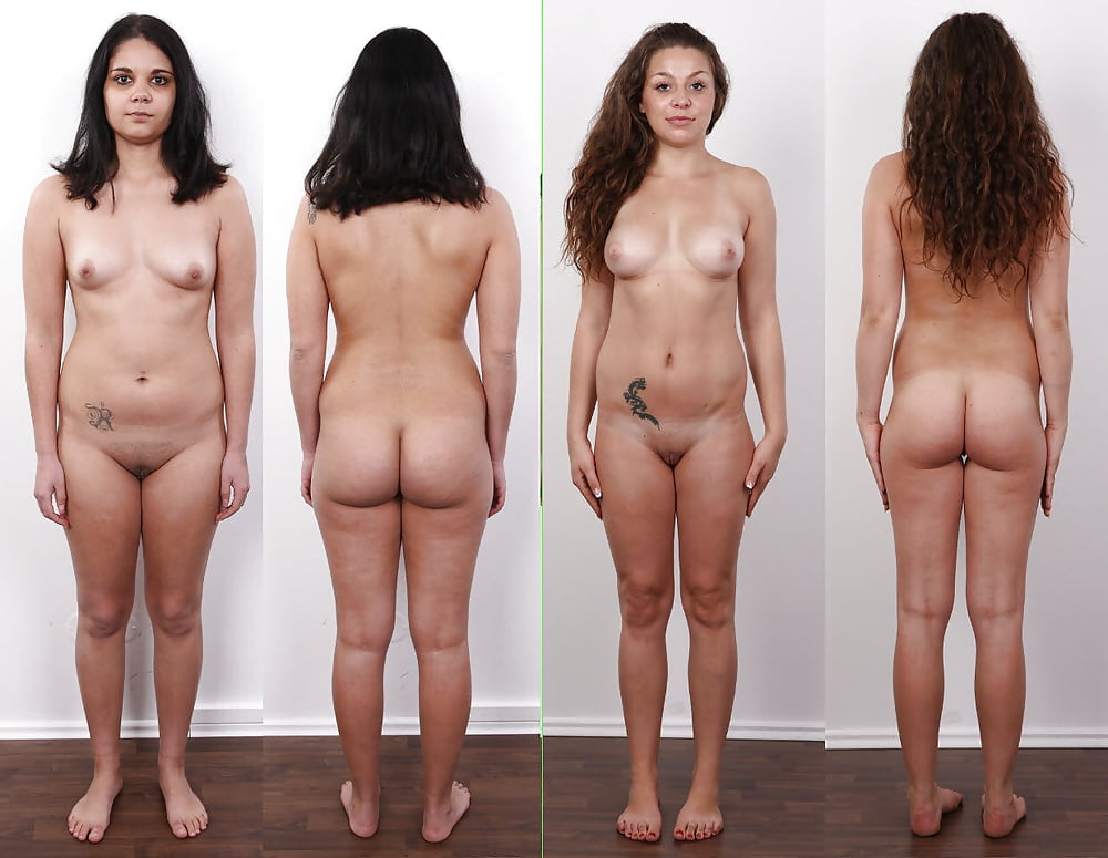Naked men weigh in