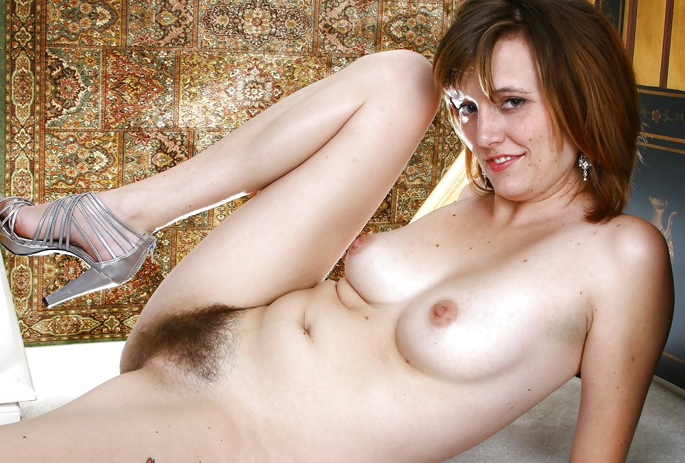 Sweet Hairy Pussy On Sexy Amateur