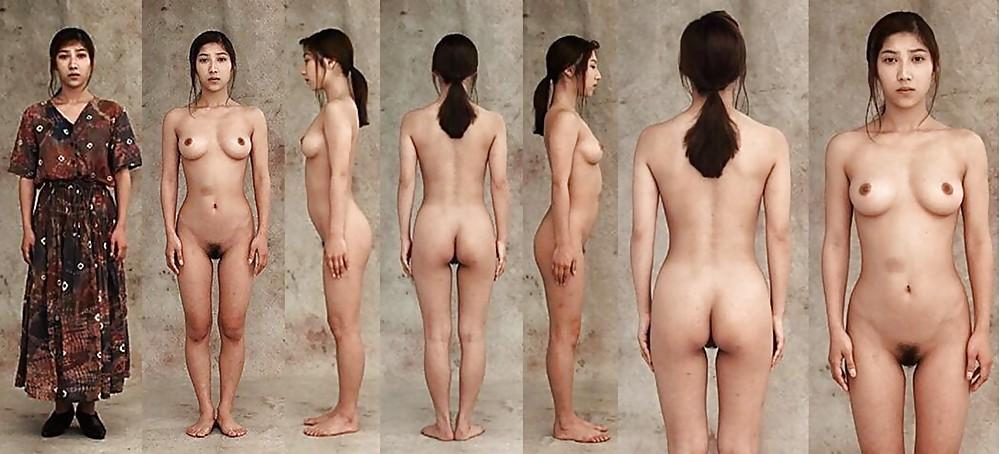 Japanese women fully naked — photo 4