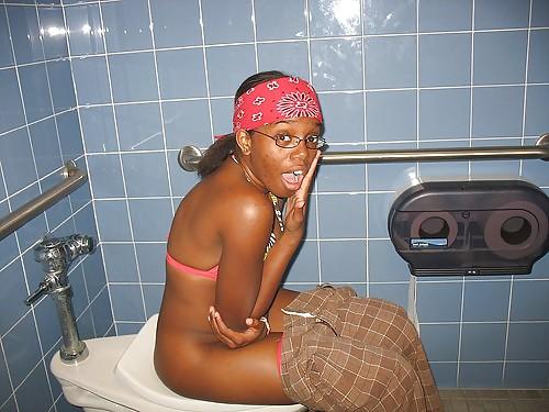 Black Girls Pissing Public