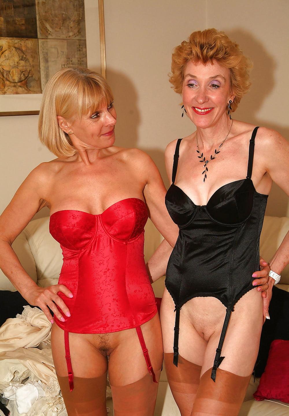 Videos of mature ladies in lingerie