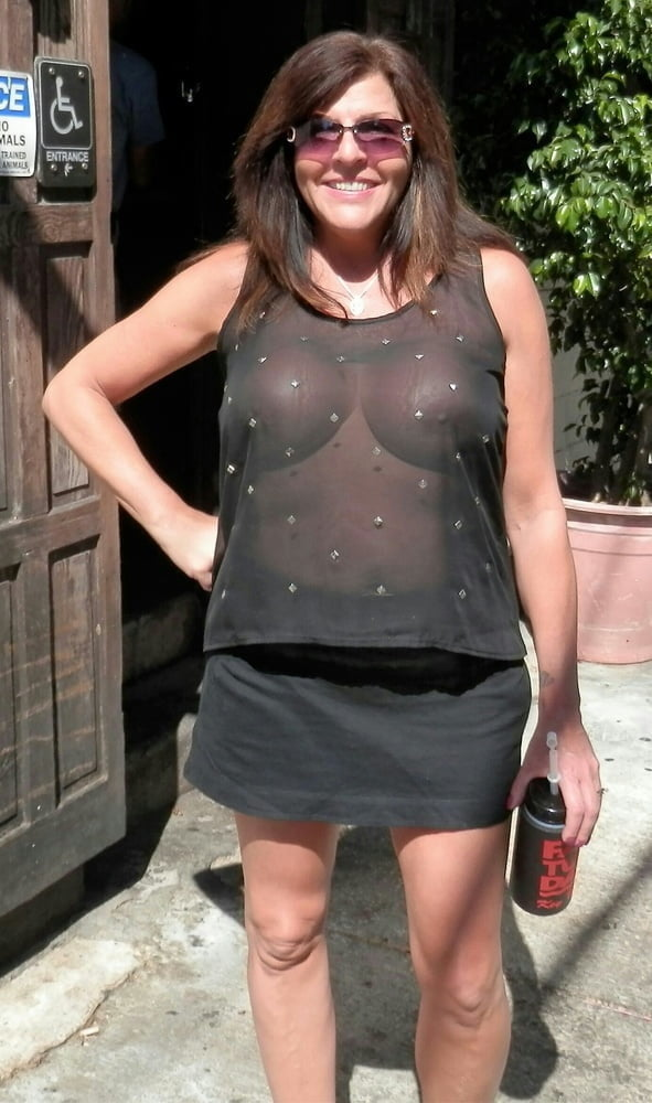 Mature Ladies Braless 1