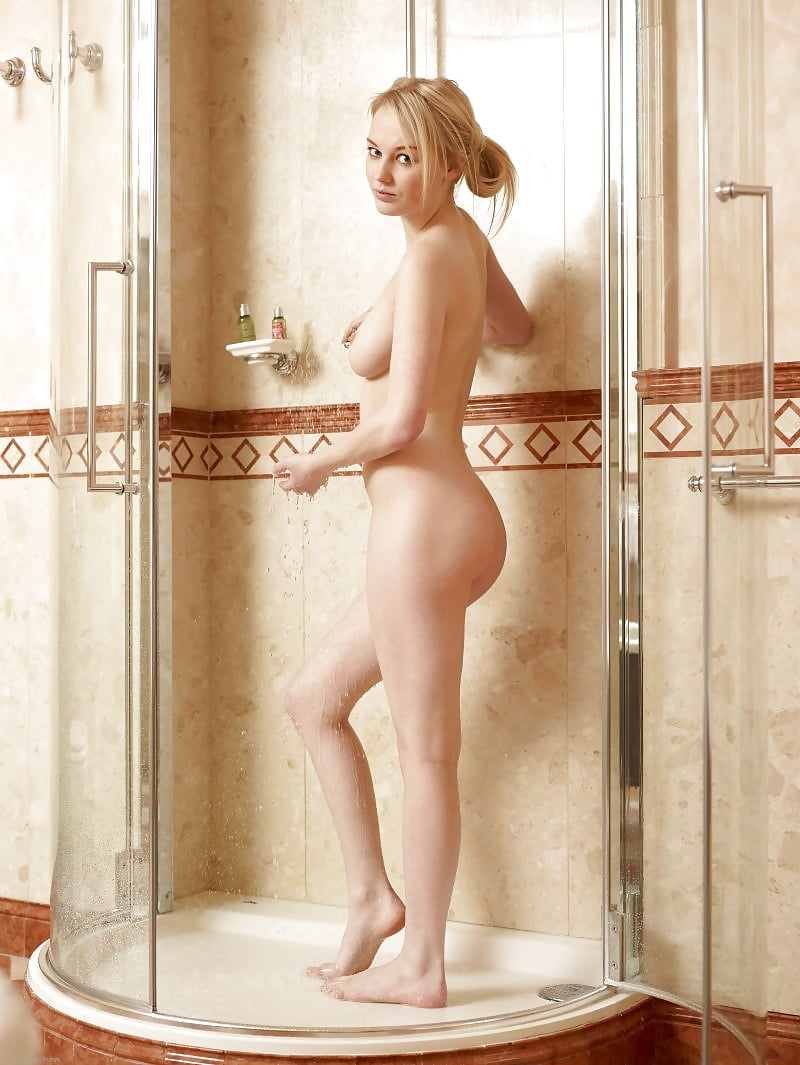 Herself nude bodies in shower sucking her